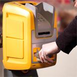 OV-chipkaart ophaal en opwaardeer-apparaat